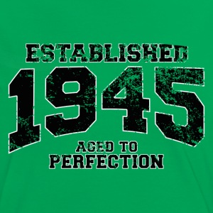 established 1945 - aged to perfection (uk) T-Shirts - Women's Ringer T-Shirt