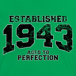 established 1943 - aged to perfection (fr) Tee shirts - T-shirt contraste Femme