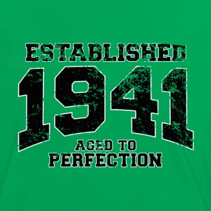 established 1941 - aged to perfection (fr) Tee shirts - T-shirt contraste Femme