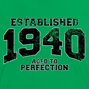 established 1940 - aged to perfection (fr) Tee shirts - T-shirt contraste Femme