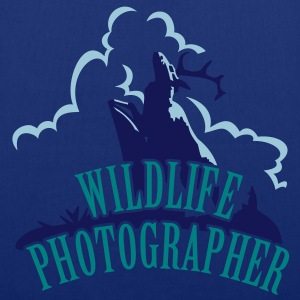 Wildlife Photographer (Deer scenery, 3c) Taschen - Stoffbeutel