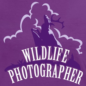 Wildlife Photographer (Deer scenery, 3c) T-Shirts - Women's Ringer T-Shirt