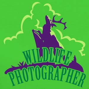 Wildlife Photographer (Deer scenery, 3c) T-Shirts - Women's Organic T-shirt