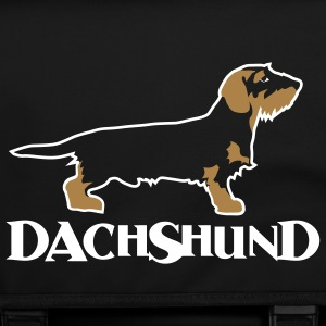 dachshund bag - Schoudertas