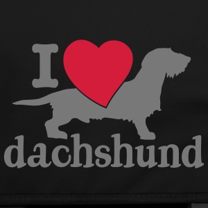 love dachshund  bag - Schoudertas