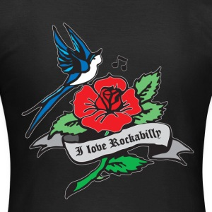 rockabilly tattoo retro patjila T-shirts - T-shirt dam