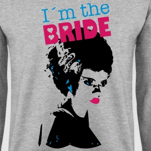 Men's Sweatshirt I´m the bride - Men's Sweatshirt