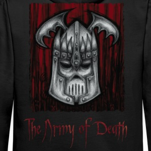 The Army of Death - Bluza męska Premium z kapturem