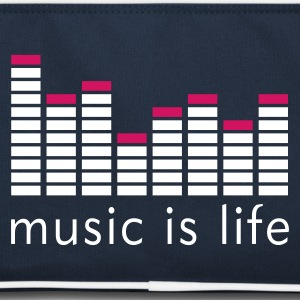 Music is life Equalizer / Music is life equaliser Tassen - Retro-tas