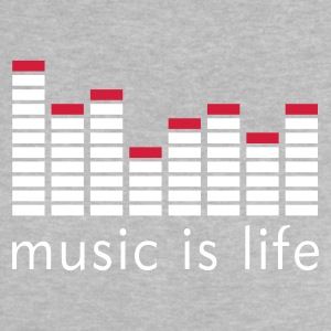 Music is life Equalizer / Music is life equaliser Baby Shirts  - Baby T-Shirt
