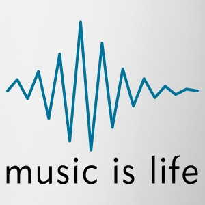 Music is life Pulse / Music is life soundwave Kubki - Kubek