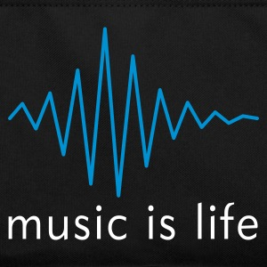 Music is life Pulse / Music is life soundwave Torby - Torba retro