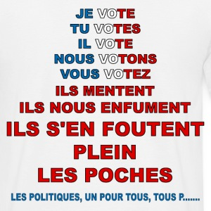 message élections france Tee shirts - T-shirt Homme