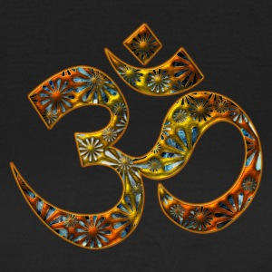 Sacred OM (AUM - I AM), DD, manifestation of spiritual strength, The energy symbol gives , peace and bliss T-shirts - Vrouwen T-shirt