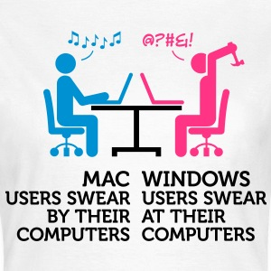 Mac Users 1 (3c)++ T-shirts - T-shirt dam