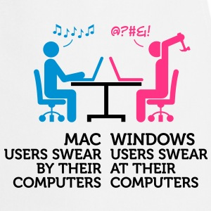 Mac Users 1 (3c)++ Tabliers - Tablier de cuisine