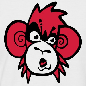 monkey_shirt_pos T-Shirts - Men's Baseball T-Shirt