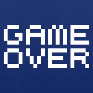 Game over / game over pixels Bags  - Tote Bag