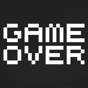 Game over / game over pixels Caps & Hats - Baseball Cap