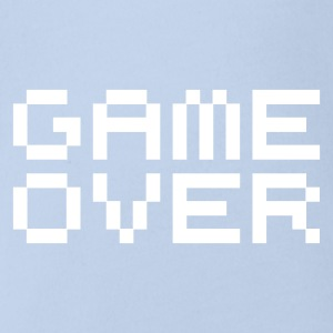 Game over / game over pixels Baby Body - Baby Bio-Kurzarm-Body