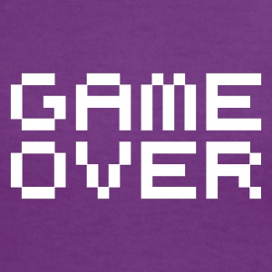 Game over / game over pixels Camisetas - Camiseta contraste mujer