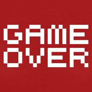 Game over / game over pixels T-shirts - Vrouwen Bio-T-shirt