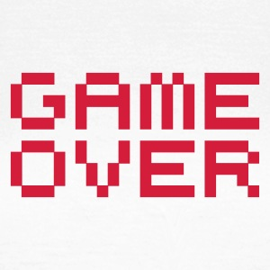 Game over / game over pixels Tee shirts - T-shirt Femme