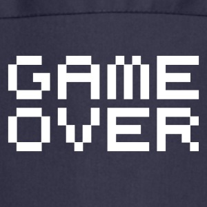 Game over / game over pixels Kookschorten - Keukenschort