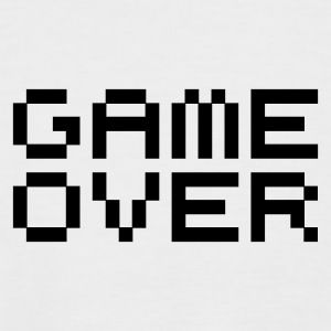 Game over / game over pixels Tee shirts - T-shirt baseball manches courtes Homme