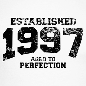 Geburtstag - established 1997 - aged to perfection - Männer Baseballshirt langarm