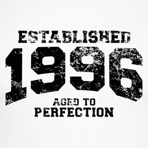 Geburtstag - established 1996 - aged to perfection - Männer Baseballshirt langarm
