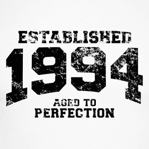 Geburtstag - established 1994 - aged to perfection - Männer Baseballshirt langarm