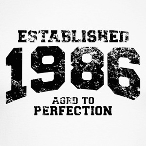 established 1986 - aged to perfection(fr) Tee shirts manches longues - T-shirt baseball manches longues Homme