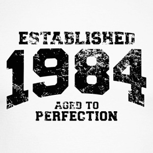 Geburtstag - established 1984 - aged to perfection - Männer Baseballshirt langarm