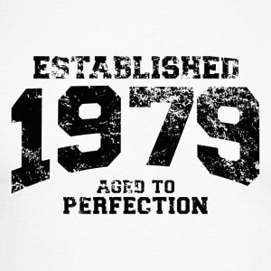 established 1979 - aged to perfection(fr) Tee shirts manches longues - T-shirt baseball manches longues Homme