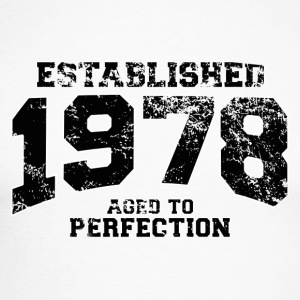 established 1978 - aged to perfection(fr) Tee shirts manches longues - T-shirt baseball manches longues Homme
