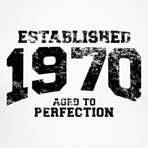 established 1970 - aged to perfection(fr) Tee shirts manches longues - T-shirt baseball manches longues Homme