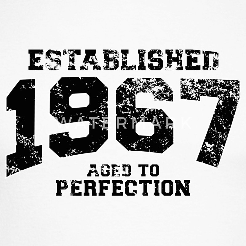 established 1967 - aged to perfection(fr) Tee shirts manches longues - T-shirt baseball manches longues Homme