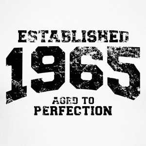 Geburtstag - established 1965 - aged to perfection - Männer Baseballshirt langarm