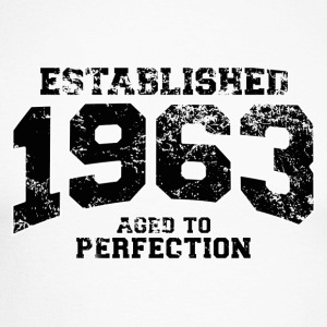Geburtstag - established 1963 - aged to perfection - Männer Baseballshirt langarm