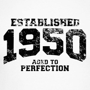 Geburtstag - established 1950 - aged to perfection - Männer Baseballshirt langarm