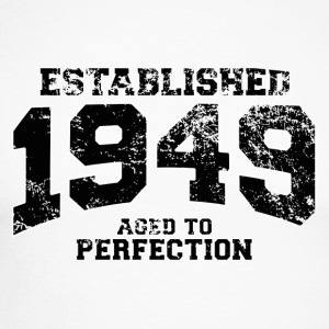 established 1949 - aged to perfection(fr) Tee shirts manches longues - T-shirt baseball manches longues Homme