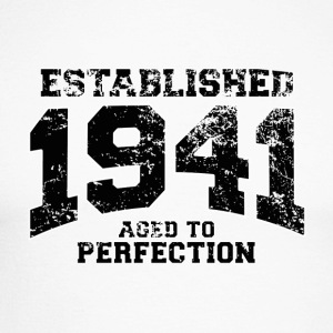established 1941 - aged to perfection (uk) Long sleeve shirts - Men's Long Sleeve Baseball T-Shirt