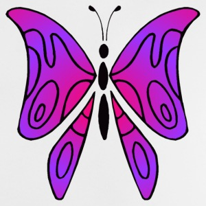 Pink and purple butterfly - Shirt kid - Baby-T-shirt