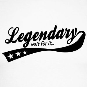legendary ... wait for it ... retro Long sleeve shirts - Men's Long Sleeve Baseball T-Shirt