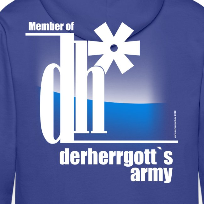 "Official Fan-Shirt of ""derherrgott`s Army"""