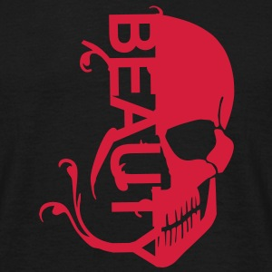 Skull Beauty T-Shirts - Men's T-Shirt