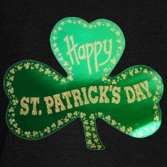 Happy St. Patricks Day Three Leafed Clover