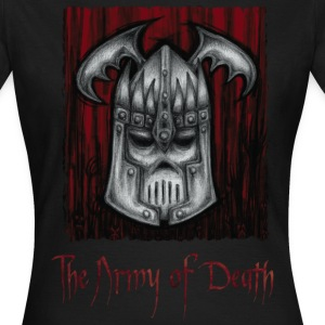 The Army of Death,  Metal Helmet design - T-shirt Femme