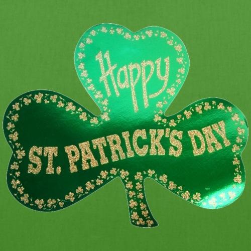 Happy St. Patricks Day Three leaf clover